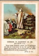 Image Pieuse : Soumission Et Relèvement De Job - Images Religieuses