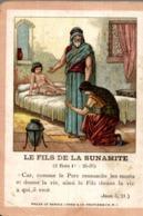 Image Pieuse : Le Fils De La Sunamite - Images Religieuses