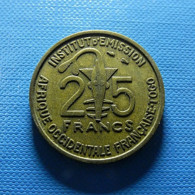 French West Africa 25 Francs 1957 - Colonies