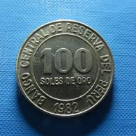 Peru 100 Soles 1982 - Perú