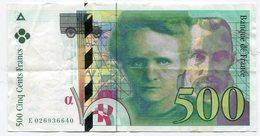 RC 10660 FRANCE 500F PIERRE ET MARIE CURIE 1994 - 1992-2000 Dernière Gamme