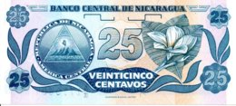 Billet Nicaragua 25 Veinticinco  Centavos  De Cordoba - Neuf - Nicaragua