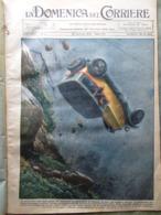 La Domenica Del Corriere 26 Gennaio 1930 Metropoli Ferrara Guardia Ognina Davos - Libri, Riviste, Fumetti