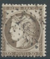 Lot N°50734  N°56, Oblit étoile Chiffrée 24 De PARIS (R. De Cléry) - 1871-1875 Cérès