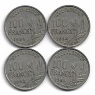 France 4 X 100 Francs Cochet - Réf CA12 - France
