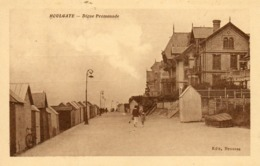 HOULGATE - 14 - Digue Promenade - Animée - 73308 - Houlgate