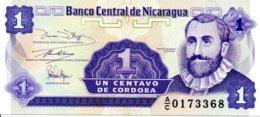 Billet Nicaragua Un Centavos  - Neuf - Nicaragua