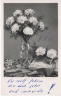 Blumenstrauss Mit Nelken 1960 - Feiern & Feste