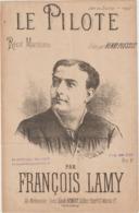 (ETH)LE PILOTE , Recit Maritime ; FRANCOIS LAMY , HENRI PLESSIS - Partitions Musicales Anciennes