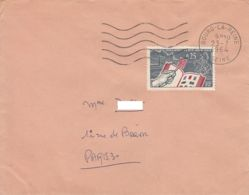 France - 1964 - Lettre Commerciale De Bourg-la-Reine Pour Paris - Covers & Documents
