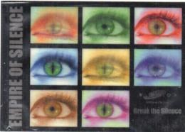Carte  En Relief (3 D) Empire Of Silence - Swisscom  - Break The Silence - Yeux (116431) - A Systèmes