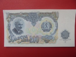 BULGARIE 200 LEVA 1951 PEU CIRCULER (B.8) - Bulgarie