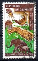 DAHOMEY. N°335 & 338 De 1974 Oblitérés. Poule. - Gallinaceans & Pheasants