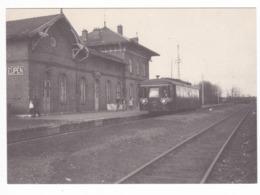 30/127 -- EUPEN Bahnhof Grenzstation -Cantons De L' Est - 1 Carte-Vue Et 1 Article De Journal - Eupen