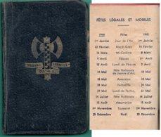 "Petit ""Agenda""- -Francisque-  ( 6 X 10cm) - Documents"