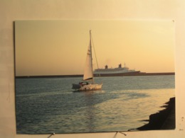 Cherbourg - Le Norway Au Petit Matin - Cherbourg