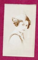 PHOTO 7,5 X12 Cm Des Années 1900...FEMME ( PIN UP) Catherinette Avec Chapeau - Pin-up