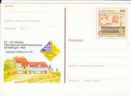 ALLEMAGNE - Entier Postal Neuf -  Bourse Aux Timbres Internationale Sindelfingen - [7] República Federal
