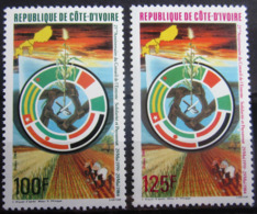 COTE D'IVOIRE                   N° 687/688                     NEUF** - Côte D'Ivoire (1960-...)