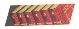 """Marque-pages Publicitaire """" LAROUSSE Du XXe Siècle   """" Encyclopédie, Dictionnaire,...(b260) - Marque-Pages"""