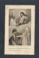 IMAGE RELIGIEUSE DE REINE GENTY ÉGLISE St MARTIN À MALESNHERBES LOIRET 1932 : - Images Religieuses