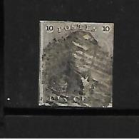 België  N° 1 - 1849 Schulterklappen