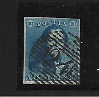 België  N° 2 - 1849 Schulterklappen