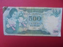 INDONESIE 500 RUPIAH 1977 CIRCULER (B.8) - Indonesien