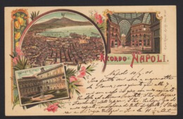 15147 Napoli - Ricordo Di Napoli F - Napoli (Naples)