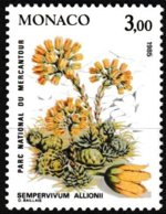 Timbre-poste Gommé Neuf** - Plantes Du Parc National Du Mercantour Sempervivum Allionii - N° 1464 (Yvert) - Monaco 1985 - Monaco
