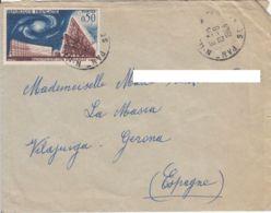 France - 1963 - Lettre De Pantin Pour L'Espagne - Francia