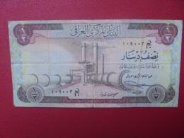 IRAQ 1/2 DINAR 1973 CIRCULER (B.8) - Iraq