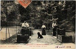 CPA LUXEUIL-les-BAINS - Pont Des Soupire - Au Parc (292404) - Luxeuil Les Bains