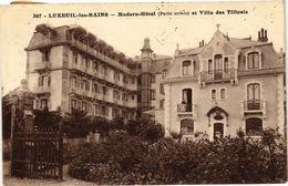 CPA LUXEUIL-les-BAINS - Modern Hotel Et Villa Des Tilleuls (380165) - Luxeuil Les Bains