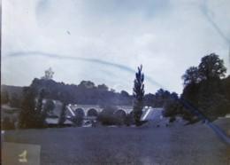 TASSIN (69) : Le Pont D'Alai, 15 Juillet 1890. Plaque De Verre. Lire Descriptif - Plaques De Verre