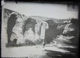Acqueduc De Beaunant, 1888. Plaque De Verre. Positif. Lire Descriptif. Bonnand - Plaques De Verre