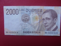 ITALIE 2000 LIRE 1990 CIRCULER (B.8) - 2000 Lire