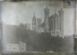 Lyon : Fourvières Par Péronnas (?), 1888. Plaque De Verre. Lire Descriptif. - Plaques De Verre