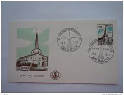België Belgique 24-6-1972 FDC Maaseik Toeristische Uitgifte Tourisme Cob 1637 - 1971-80