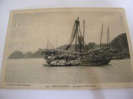 C.P.A.- Asie - Viêt Nam - Baie D'Along - Joncques De Haute Mer - 1910 - SUP (CT 28) - Viêt-Nam