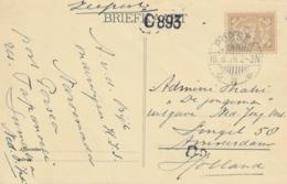 Nederlands Indië - 1926 - 7,5 Cent Cijfer Op Briefkaart Van LB PORSEA Naar Amsterdam / Nederland - Nederlands-Indië