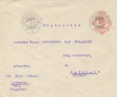 Nederlands Indië - 1928 - 12,5 Cent Wilhelmina, Envelop G47 Van LB PREMBOEN Naar Magelang - Nederlands-Indië