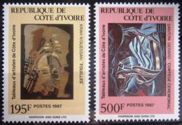 COTE D'IVOIRE                   N° 793/794                     NEUF** - Côte D'Ivoire (1960-...)