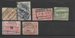 België Spoor  Verschillende Stempels Waaronder Betere - 1895-1913