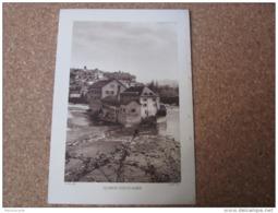 Oloron Sainte Marine    Tachée à Droite   Photogravure Format 20 Cm X 29 Cm. - Vieux Papiers