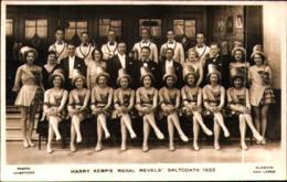 Real Photographic Postcard Of Harry Kemp's �Regal Revels�, Saltcoats, 1932, Ayrshire, - England