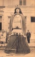 Ath  Souvenir D'Ath   Cortège Des Fètes Communales   Mademoiselle Victoire  Géante     L 1064 - Ath