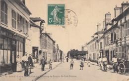 CPA - Nogent Sur Seine - Faubourg De Troyes - Café Frisson - Nogent-sur-Seine