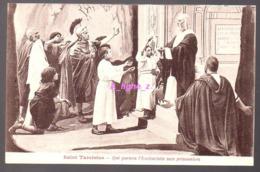 REF 407 : CPA Saint Tarcisius - Saints