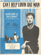 Partition Musicale Ancienne  , Oscar Hammerstein , Jerome Kern ,  CAN'T HELP LOVIN' DAT MAN , 6 Pages ,frais Fr 1.85 - Partitions Musicales Anciennes